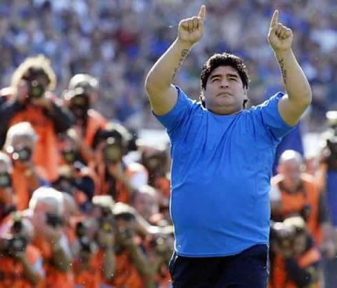 najtucnejsi futbalisti sveta diego maradona